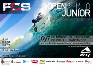 open junior surf cantabria infinita 2010 300x212 OPEN PRO JUNIOR CANTABRIA INFINITA  en Santander surf projunior infinita el sardinero cantabria 2010  Marketing Digital Surfing Agencia