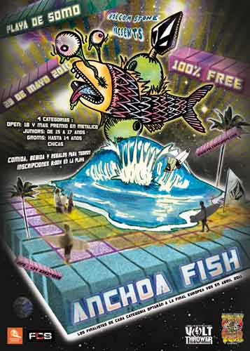 surf nalusurf cantabria volcom anchoa fish Se celebra el VOLCOM ANCHOA FISH en Somo VQS Totally Crustaceous Tour volcom pablo gutierrez competicion anchoa fish  Marketing Digital Surfing Agencia